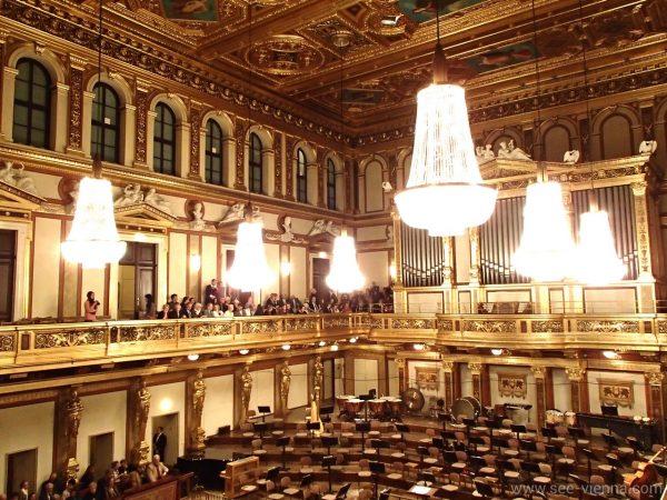 Виена Златната зала Музикферайн Частни музикални обиколки