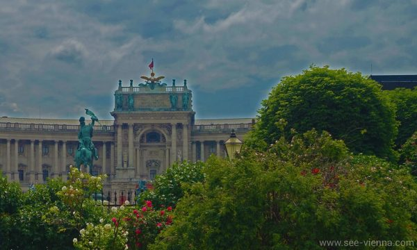 Виена Хофбург Площада на героите Частни обиколки