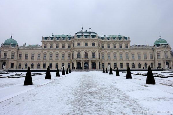 Vienna Belvedere Superiore Inverno Tour Privati