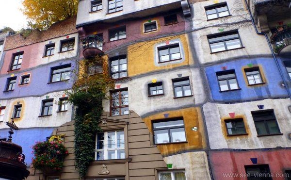 Vienna Hundertwasserhaus Tour Privati