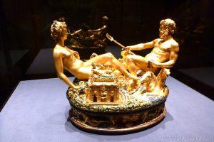 Saliera by Benvenuto Celini, Kunsthistorisches Museum Vienna