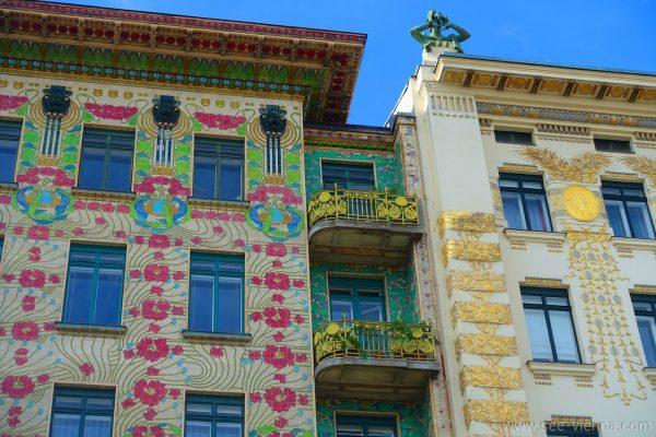 Vienna Otto Wagner Linke Wienzeile Case Tour Privati