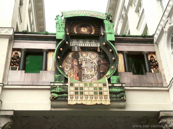 Vienna l orologio Anker Tour Privati