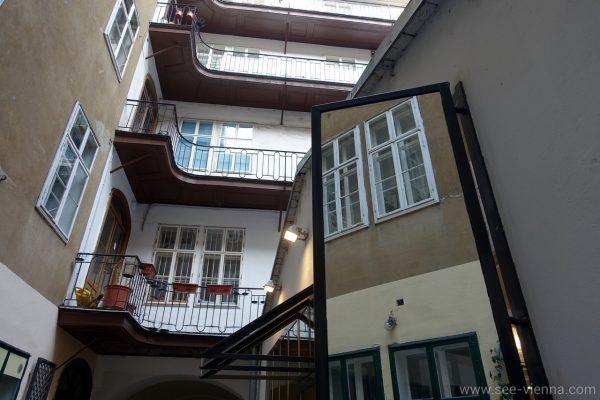 Wien Hof im Stadtzentrum Private Stadtfuhrungen