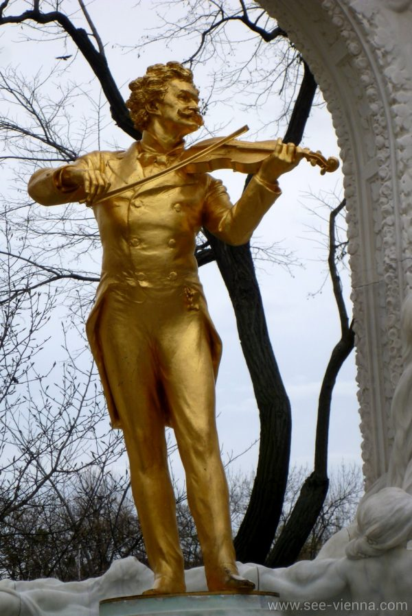 Wien Johann Strauss Denkmal Private Stadtfuhrungen