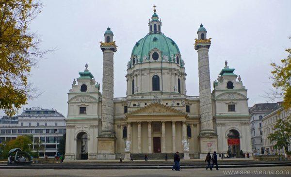 Wien Karlskirche Private Stadtfuhrungen