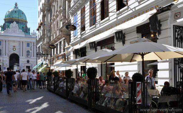 Wien Kohlmarkt Demel Private Stadtfuhrungen