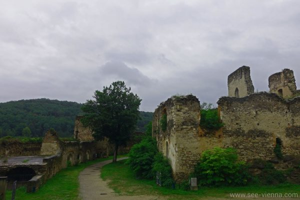 Kamptal Weintour Gars Burg