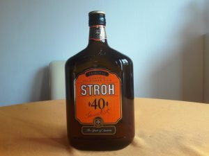 Stroh Rum for Viennese Apple Strudel