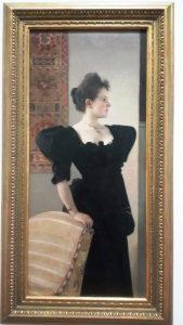 Belvedere Vienna Klimt Portrait of a Lady