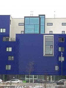 Seestadt Vienna Blue facade house